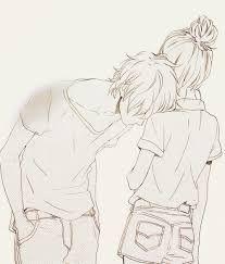 Resultado de imagem para desenhos de namorados juntos tumblr