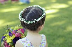 flower girl... flower child!