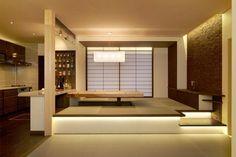 和のキッチン リビング 松戸展示場|展示場のご案内|菊池建設株式会社