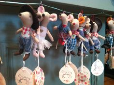 Super cute Maileg mice dressed up in different costumes! $19.95