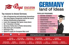 Abroad Education Germany is one of the best options for students.  #business #Europe #consultants  #eu  #higher education  #kerala #india