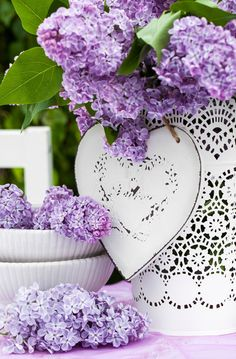 Lovely lilacs...⭐...