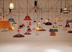 PET-Lamp van Alvaro Catalan de Ocon. Prachtige kleuren!