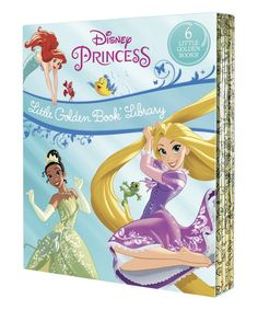 Disney Princess Little Golden Book Library (Disney Princess): Tangled; The Princess and the Frog; The Little Mermaid; Beauty and the Beast; Christmas Books, Disney Christmas, Disney Princess 2016, Pheonix Marie, Penguin Random House, Little Golden Books, Boutique, The Little Mermaid, Beauty And The Beast