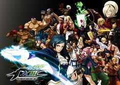 Characters - Pictures & Characters Art - King of Fighters XIII