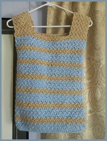Free Crochet Patterns for the Beginner and the Advanced: Versitile Caron Tank Top / Vest