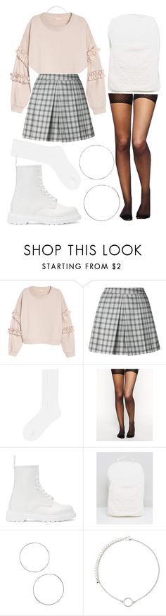 """""""OOTD 12.27.17"""" by angelsaffairs ❤ liked on Polyvore featuring H&M, UNIF, Uniqlo, ASOS, Dr. Martens, adidas and Forever 21"""