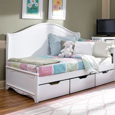 Opal Dream Daybed and Luxury Kid Furnishings Including Armoires in Childs Furniture : Childrens Beds at PoshTots