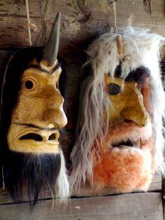 Romanian traditional mask