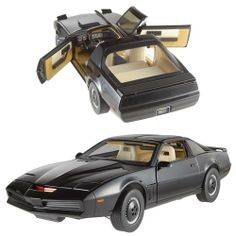 Knight Rider KITT w/ Voicebox 1:18 Scale Hot Wheels Elite - Mattel - Knight Rider - Vehicles: Die-Cast at Entertainment Earth