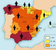 Obesidad: donde hay mas gordos en España