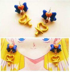 Handmade sailor Venus Inspired  Earrings. $15.00, via Etsy.