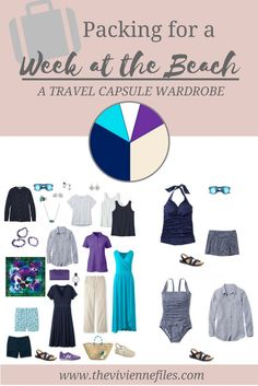 Can I Pack Just 11 Pieces for a WEEK at the Beach? Absolutely...
