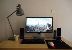 """My desk 2013 dec"""