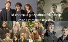 I have a bunch to add other than LOTR and Sherlock....