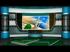 background virtual studio screen tv islamic backgrounds frame animation effects