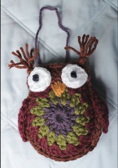 Crochet Owl Buddy. LOVE him!