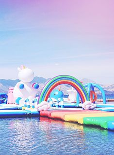That Viral Unicorn-Themed Inflatable Water Park Could Be Coming To A Beach Near You https://r29.co/2HQcaXQ
