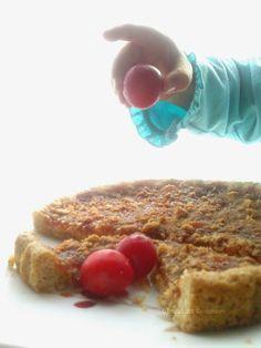 Giochi di Zucchero: Crostata rustica con marmellata di prugne selvatiche