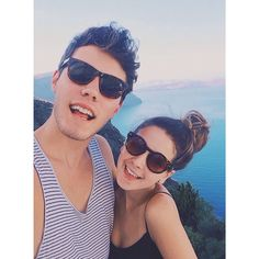 Zoe and Alfie on their holiday!