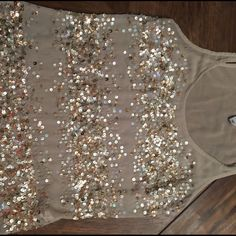Sequin tank From old navy sequin tank Old Navy Tops Blouses