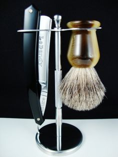 Brush and Straight Razor