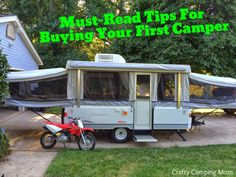 Honest hints and tips from a first time camper owner to help you purchase your perfect pop up or RV!