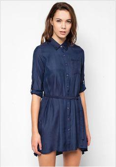 fd31574890c585 ZALORA Basic Shirt Dress www.zalora.com.ph. Online Dress ShoppingPhilippinesDresses  ...