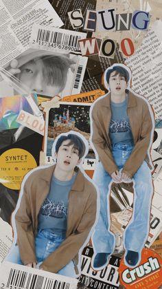 Graphic Design Posters, Graphic Design Inspiration, Victon Kpop, Cute Lockscreens, Seventeen Wallpapers, Cute Korean Boys, Aesthetic Collage, Black Wallpaper, Johnny Depp