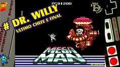 Megaman NES Gameplay Dr Willy e Final