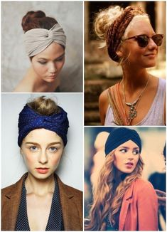 Desejo: Turbante – Source by yesilozof Curly Hair Styles, Medium Hair Styles, Natural Hair Styles, Bandana Hairstyles, Messy Hairstyles, Khaleesi Hair, Head Scarf Styles, Trending Hairstyles, Hair Dos