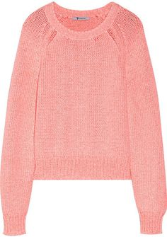 Wildfox Couture Solid Sweater - Shop for women's Sweater - Coral ...