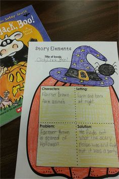Fun graphic organizers & reading responses to fit any Halloween Read-aloud!