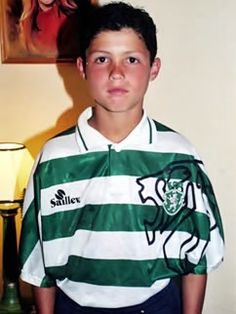Cristiano Ronaldo as a child, in the SPORTING CLUB PORTUGAL academy