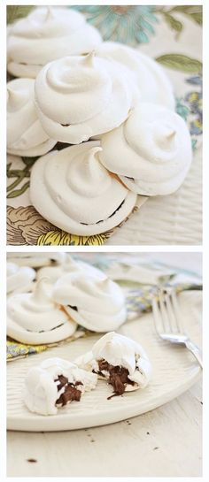 Nutella-Stuffed Meringues! gluten-free!!