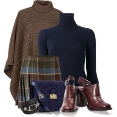 Plaid Skirt, created by renee-switzer on Polyvore