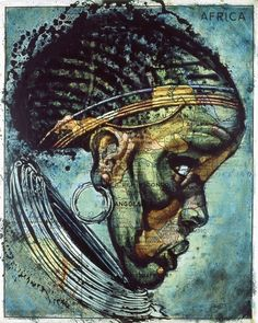 Africa / Map Painter Fernando Vicente Explores The Art In Cartography Art And Illustration, Street Art, Art Carte, Arte Tribal, Map Painting, Les Continents, Spanish Artists, We Are The World, Vintage Maps