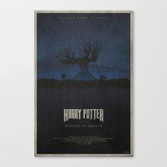 The Prisoner of Azkaban Canvas Print by edwardjmoranii Best Book Covers, Prisoner Of Azkaban, Canvas Prints, Art Prints, Harry Potter, Draco, Geek, Posters, House