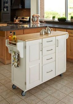 movable islands for kitchens - Google Search
