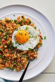 Cauliflower Fried Rice #purewow #healthy #dinner #recipe #cauliflower