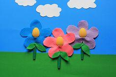 Recycled Spoon Flower Art | AllFreeKidsCrafts.com