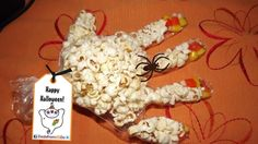 Popcorn Hand is a Spooktacular Snack for Little Monsters