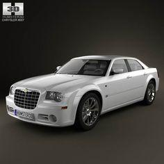 Chrysler 300C sedan 2009 3d model from humster3d.com. Price: $75