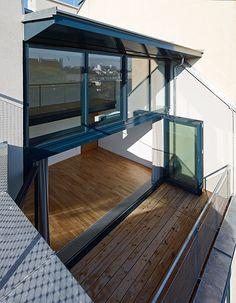 Loft, Houses, House Design, Bed, Furniture, Home Decor, Patio, Living Area, Homes