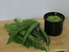 Wild garlic pesto....delicious and tastes so much better when its picked free from the land. Gotta love when mother nature provides.  www.barefootandraw.co.uk Wild Garlic Pesto, Raw Food Recipes, Celery, Mother Nature, Spinach, Vegetables, Free, Raw Recipes, Vegetable Recipes