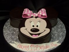 Minnie Mouse Cake Picture