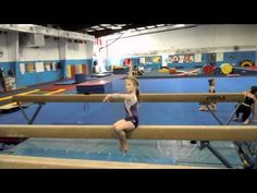 ▶ Kyrie's Level 7 beam routine - YouTube
