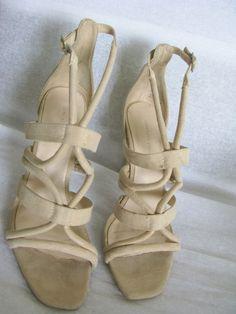 e567bd6ba1b Zara wraparound high heel sandals eu 36