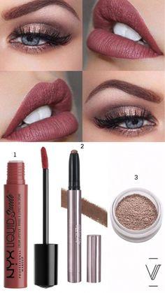 Must Haves de otoño 2017 - – Liquid Suede Cream Soft Spoken - Fall Lipstick Colors, Fall Lip Color, Summer Lipstick, Summer Makeup, Lip Colors, Nyx Lipstick, How To Apply Lipstick, Lipstick Shades, Lipsticks