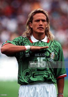 FRANCE 98 am 13.06.98, NATIONALMANNSCHAFT 1998 MEXICO, Luis HERNANDEZ/MEX